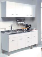 Composizione Cucina Sofia 160 cm Bianco