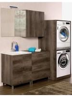 Arredo lavanderia Unika a terra 200 cm a giorno