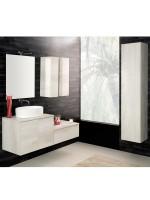 Unika sospesa 140 con lavabo d'appoggio