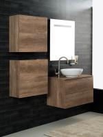 Unika sospesa 160 con lavabo d'appoggio