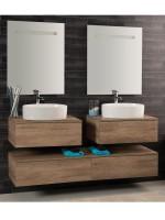 Unika sospesa 160 con doppio lavabo